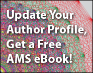 Free AMS eBook when you update your Author Profile